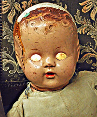 Demon Baby (FotoEdge) Tags: usa baby death eyes midwest birth kansascity missouri demon devil glowing kc cracks crusty cracked kcmo cursed wrinkled rosemarysbaby demonbaby fotoedge