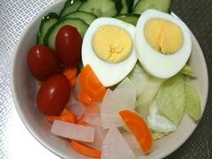 朝食サラダ(2011/9/28)