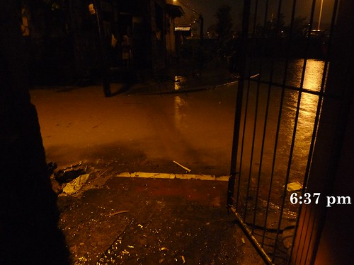 flood in our street