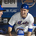 Josh Thole shares a laugh with Terry Collins