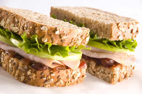 Chef Samuelsson's turkey & chutney sandwich