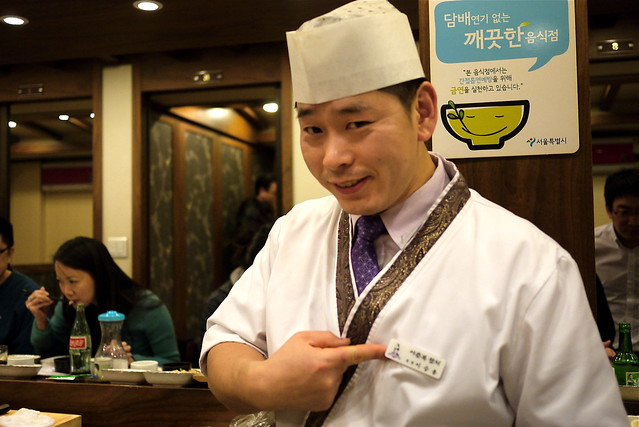 Seoul Food: Lee Chun Bok: Korean Tuna Buffet's Chef