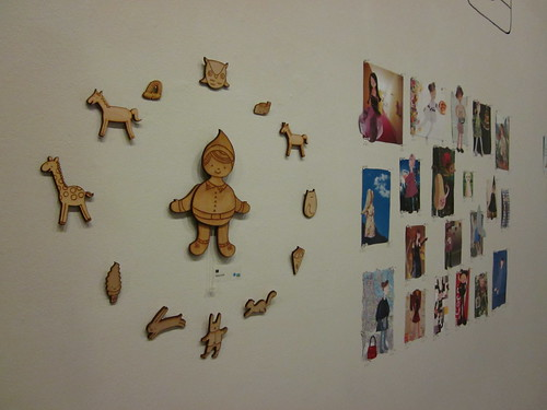 My wall of art.