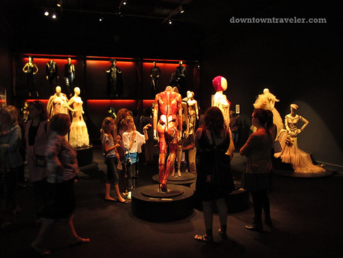 Jean Paul Gaultier fashions at Montreal Musee des Beaux Arts
