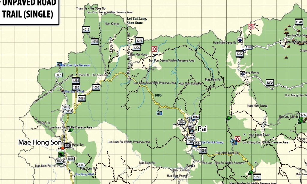 North Thailand Off-Road & Tarmac Gps Map - Thailand Maps ... on mitsubishi thailand, kensington thailand, mio thailand, panasonic thailand, oakley thailand,
