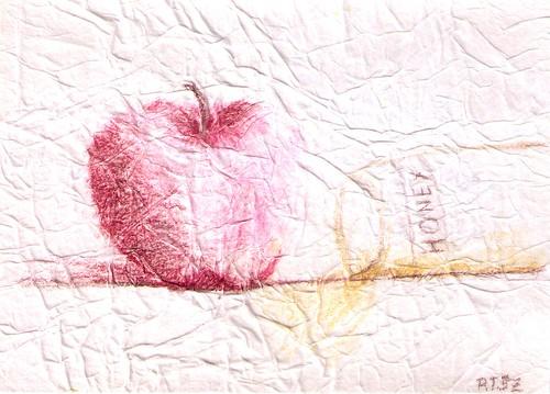 Handmade Rosh Hashanah card