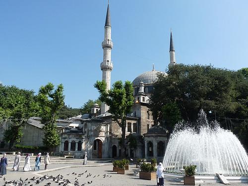 Istanbul: Eyüpova mešita je proroku Muhammadovi nejbližší