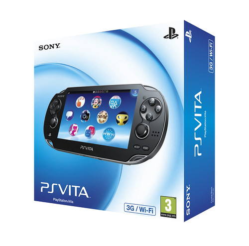 PS Vita Box Design - 3G/Wi-Fi