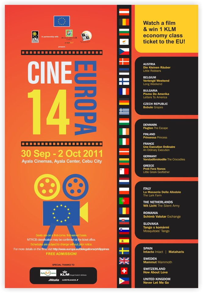 Cine Europa 14 Event Poster