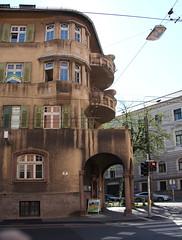 Salzburg 2011 Haus am Rudolfsplatz (Pacific11) Tags: house salzburg austria town österreich haus stadt rudolfsplatz