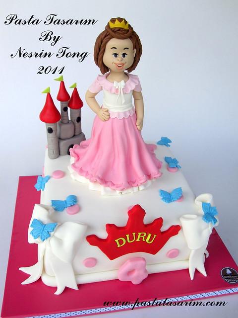 PRINCES AND CASTLE CAKE - DURU BIRTHDAY CAKE