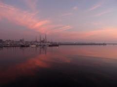 kiel_hafen_sonnenaufgang02 (ghoermann) Tags: morning sunrise harbour fjord kiel förde