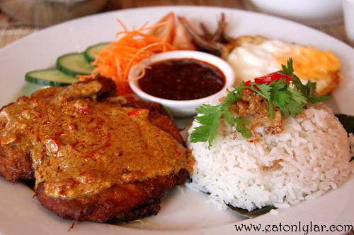 Nasi lemak, Ning Malaysian Restaurant & Cookery School