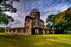 A-Bomb Dome (Imahinasyon Photography) Tags: old city green canon site war nuclear hiroshima national dome 7d  bomb 1945 geographic abomb the  cokin genbaku    dhr ringexcellence