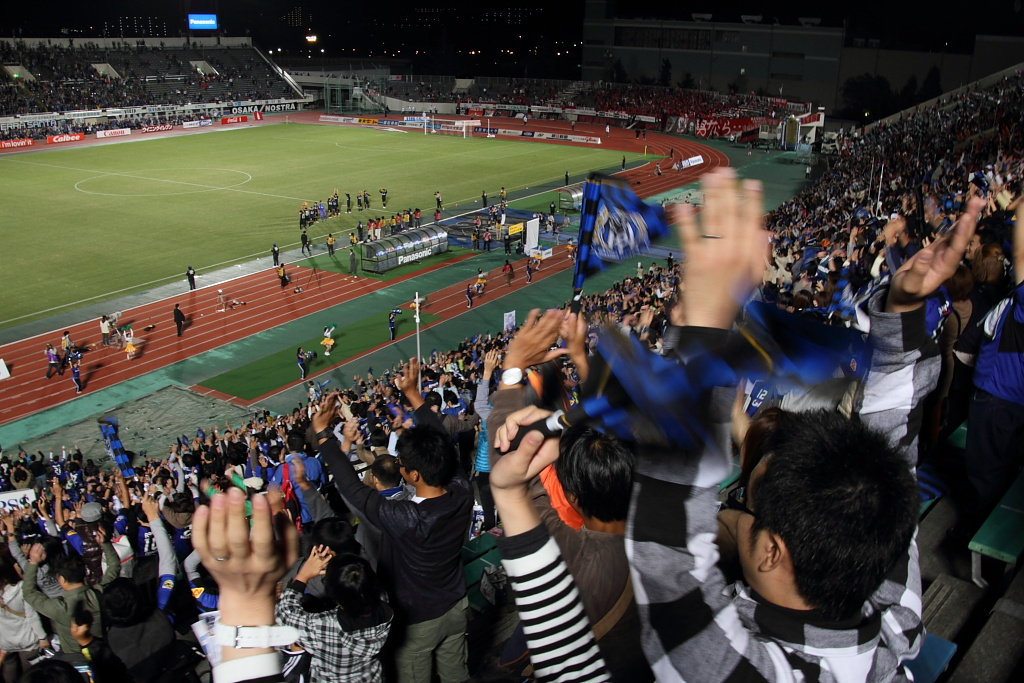 The 20th anniversary game of the Gamba Osaka (5)