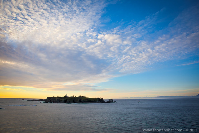 Island off of Cape Flattery