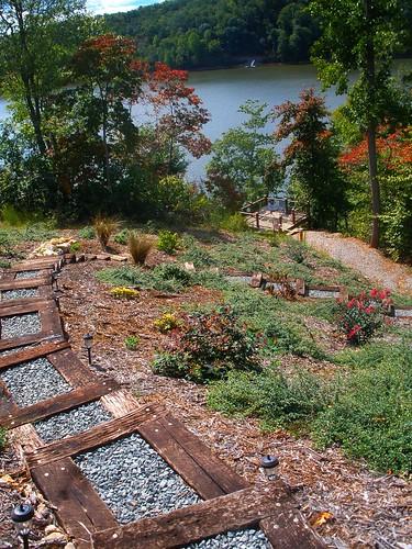 path down to lake