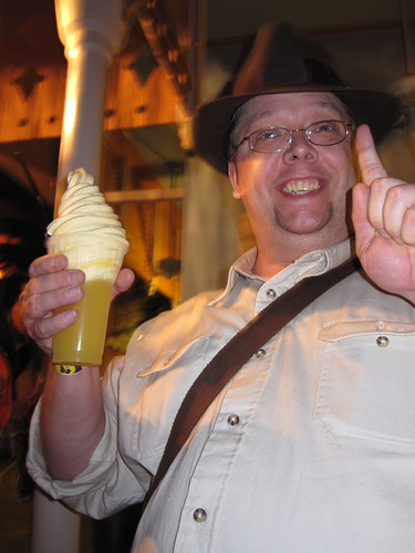Geordon's First Dole Whip Float!
