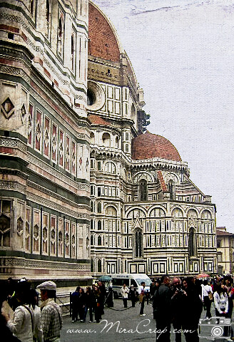 Textured Postcards from Florence