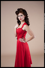 Melissa - Pin Up (herobyday) Tags: portrait classic girl studio 50mm nikon sb600 softbox pinup cls sb800 strobist sb900 herobyday