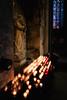 . (Cyrco46) Tags: saint cité sombre carcassonne eglise hdr bougie saintnazaire