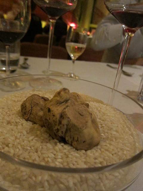 Alba White Truffle Dinner @ Goccia