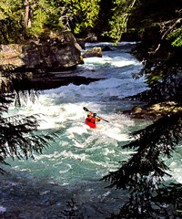 Mountain Kayaking I (david schweitzer) Tags: mountain rock wow river whistler outdoors whitewater kayak floor britishcolumbia rapids adventure kayaking volcanic gettyimages cheakamusriver cheakamuscanyon pacificcoastmountains lpflow lprapid