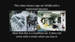 Motorized Lego Death Star (10188) (Jeroen_K) Tags: death star mod lego modified motorized 10188