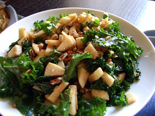 Kale Pecan Apple Salad