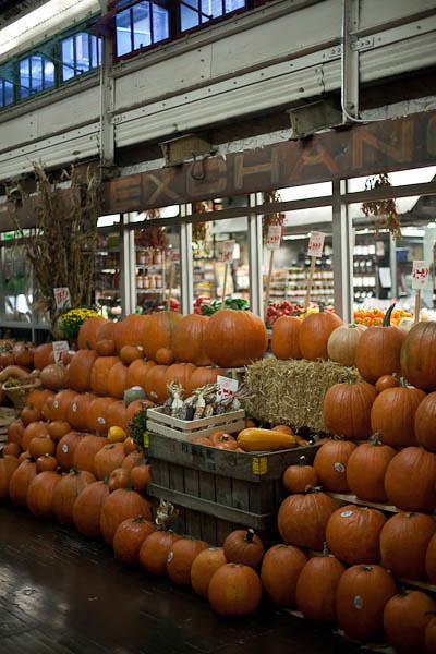 Pumpkins at Chelsea Market