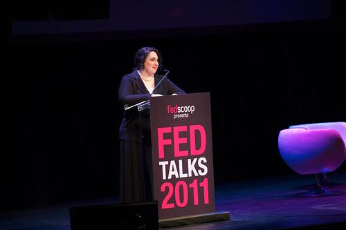 FedScoop Founder and CEO Goldy Kamali kicks off FedTalks 2011