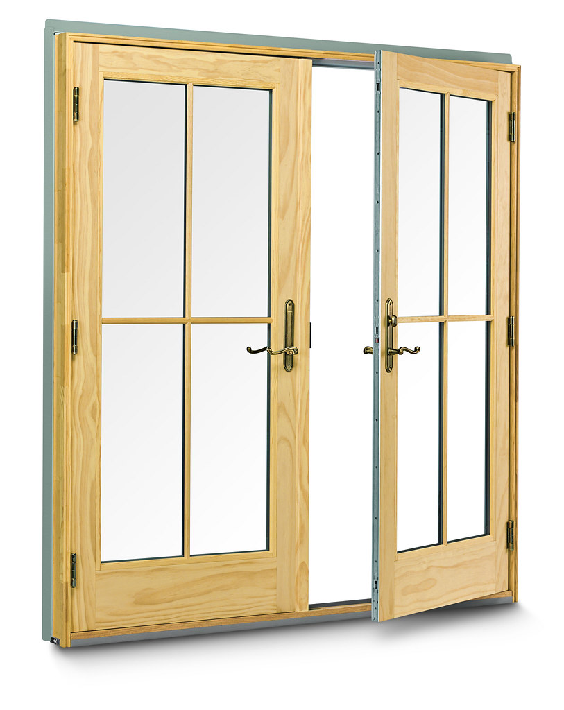 400 Series Frenchwood hinged inswing patio door