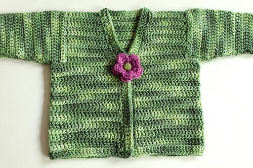 angela tong's crochet cardi