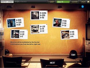 Beretta's Vendetta Slots Payout