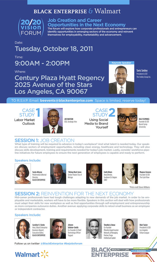 Black Enterprise & Walmart 20/20Job Forum (Los Angeles)