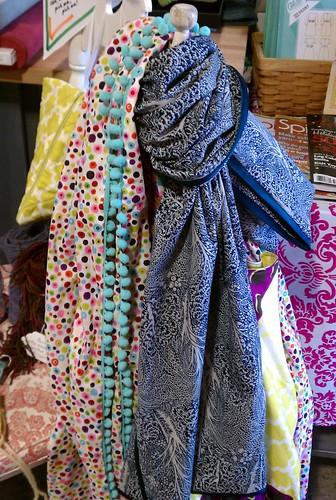 Pretty scarves