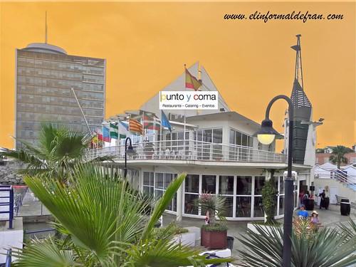 Restaurante Punto y Coma, Club Marítimo Melilla