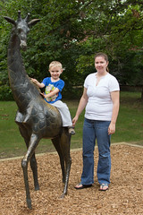 Giraffe #1 (Craig Dyni) Tags: boy colin mom zoo mother son finn potterparkzoo dyni