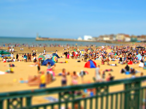 Tiltshift : Margate Beach, UK by Anuma S. Bhattarai