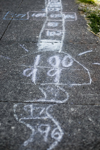 longest hopscotch ever.