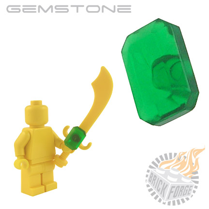 Gemstone - Trans Green (Emerald)