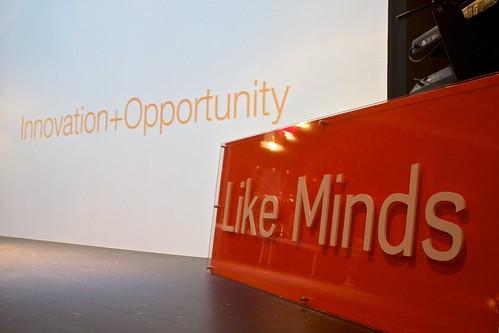 Like Minds: Innovation + Opportunity