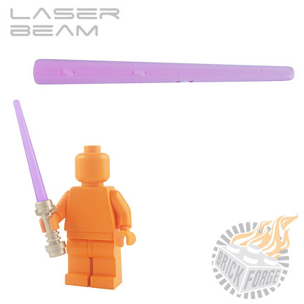 Laser Beam - Trans Purple