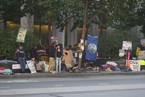 "more ""occupy"" San Francisco protest"