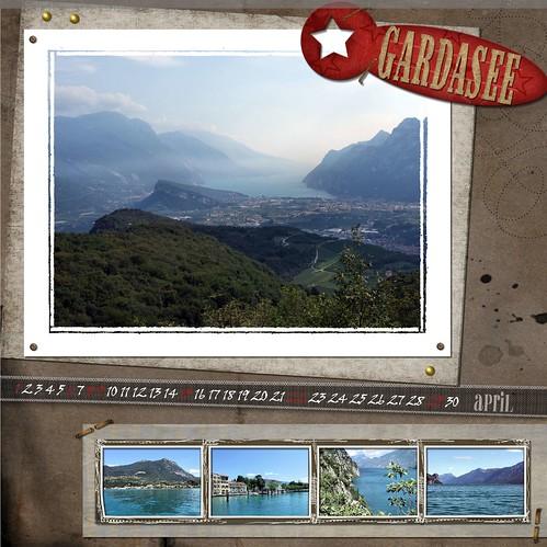 """Kalenderblatt """"Gardasee"""""""