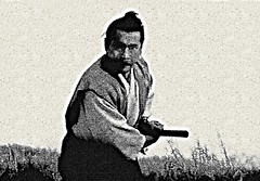 "Toshiro Mifune [ homenagem ao eterno Samurai - estudo com cena do filme clssico ""Samurai Rebelio"" (Ji-uchi: Hairy tsuma shimatsu)]  /  Toshiro Mifune (tribute to the eternal Samurai - study of scene from the film classic ""Samurai Rebellion"") (Valcir Siqueira) Tags: film rebellion samurai toshiromifune"