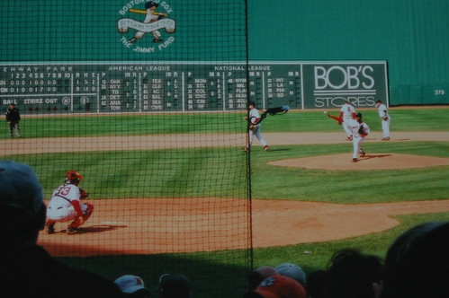 Pedro Martinez with the Red Sox in 2003