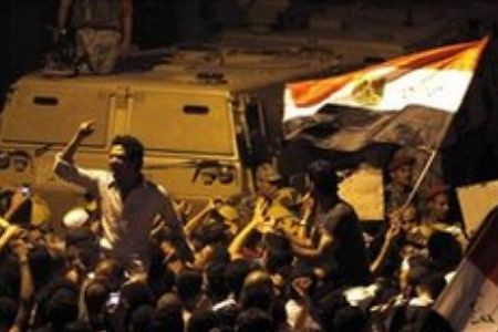Egyptian demonstrations demanding the end to military rule inside this North African state. Egyptians are demanding a break in relations with the State of Israel.  by Pan-African News Wire File Photos