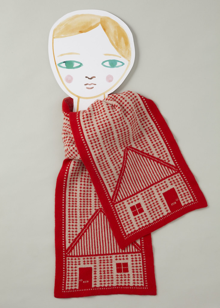House Scarf by Donna Wilson