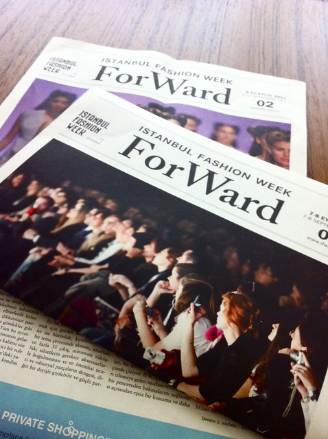ifw, istanbul fashion week, ifw odakule, ifw 4. gün, ForWard gazete, IFW gazetesi